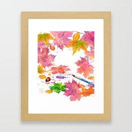 Nature's Artistry Framed Art Print