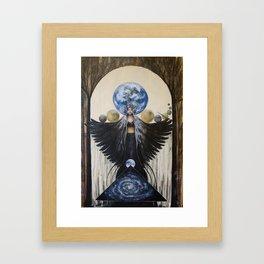 Between the Worlds Framed Art Print