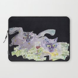 Fat Cats Laptop Sleeve