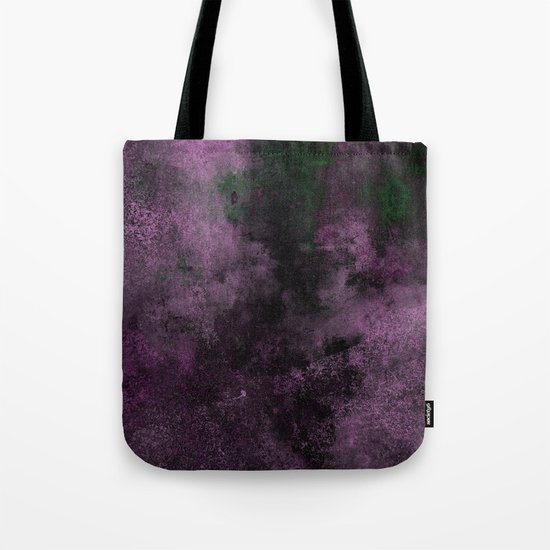 Dusk (Abstract, acrylic painting) Tote Bag