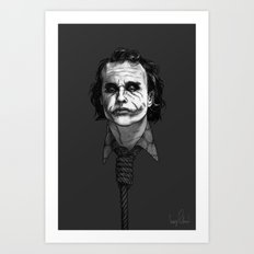 Now I'm Always Smiling // The Dark Knight Art Print