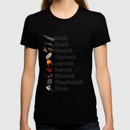 Firefly Names T-shirt