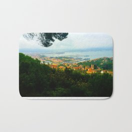 La Spezia, Italy City Panorama Bath Mat