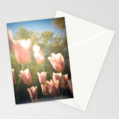 Dreamy Pink Tulips Stationery Cards