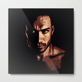 The Look Metal Print