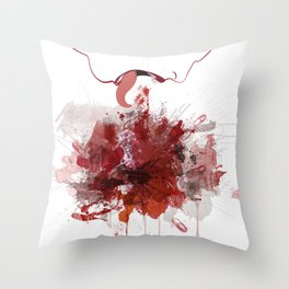 Enjambre Throw Pillow