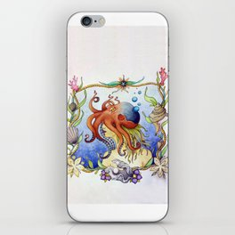 Octopus Wench iPhone Skin