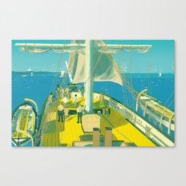 Kazusa Beach Canvas Print