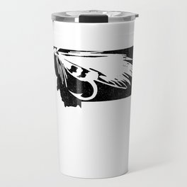 Montana Fly Fishing Hook State River Men Travel Mug