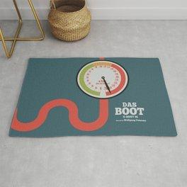 Das Boot, U-boot 96, alternative movie poster, minimal film playbill Rug