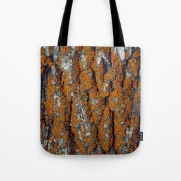 Orange Moss Tote Bag