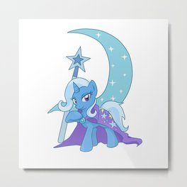 The Great and Powerful Trixie Charm Metal Print