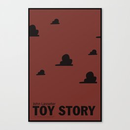 Toy Story | Minimalist Movie Poster Canvas Print