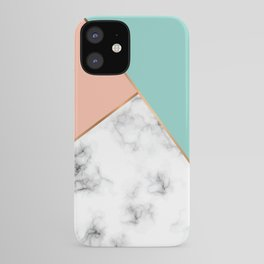Marble Geometry 056 iPhone Case