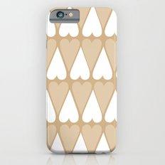 Sugar Heart Pattern iPhone 6s Slim Case