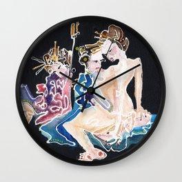 Empress in Secret Wall Clock
