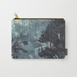 Prehistoric Land Print Carry-All Pouch