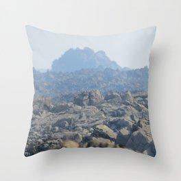 Another Alien Landscape Throw Pillow