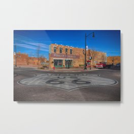Standin on a corner in Winslow, Arizona Metal Print