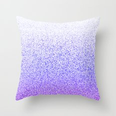 I Dream in Purple Throw Pillow