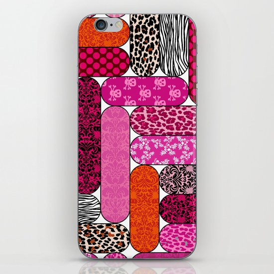 Nail Files iPhone & iPod Skin