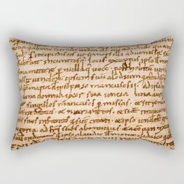 Handwritten script Rectangular Pillow