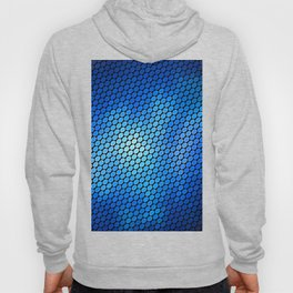 Blue LED Abstract Art Design Hoody