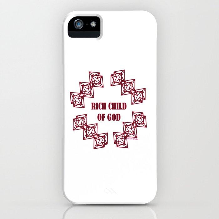 Rich Child of God (Prosperity) - Rasha Stokes iPhone Case