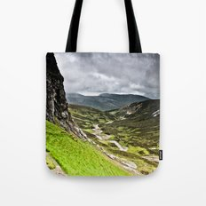 Inchnadamph Caves Tote Bag