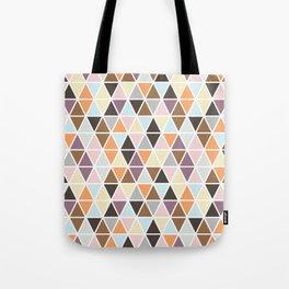 Geo Triangles Tote Bag