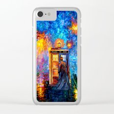 The 10th Doctor who Starry the night Art painting iPhone 4 4s 5 5c 6, pillow case, mugs and tshirt Clear iPhone Case