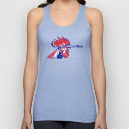 France Les Blues (The Blues) ~Group C~ Unisex Tank Top