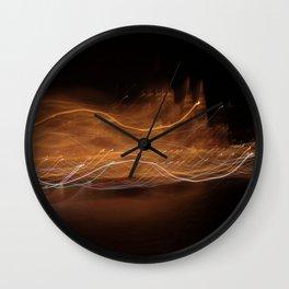 Budapest Night - JUSTART © Wall Clock