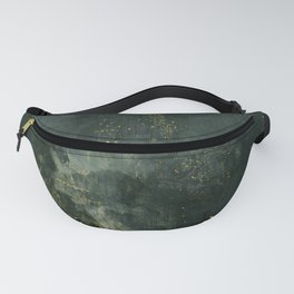 James Abbott McNeill Whistler - Nocturne in Black and Gold Fanny Pack