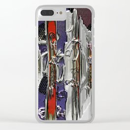 Graffitis sculpture Clear iPhone Case