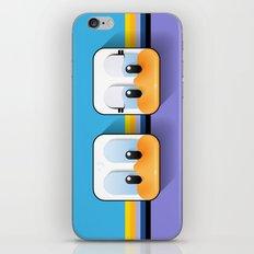 daisy and donald sweetheart ducks iPhone & iPod Skin