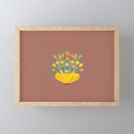 Flower Pot II Framed Mini Art Print