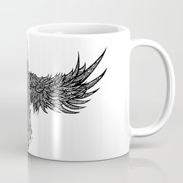 Ghost Raven Coffee Mug