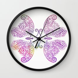 Two Souls One Heart Wall Clock