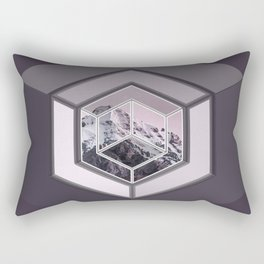 Mountain Cube Rectangular Pillow