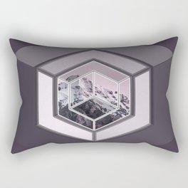 Mountain Cube Rectangular Pillow