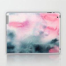 When indigo meets pink || watercolor Laptop & iPad Skin