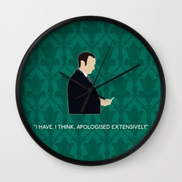 The Lying Detective - Mycroft Holmes Wall Clock