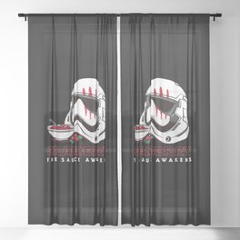 Cranberry Sheer Curtain
