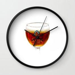 Beer from Belgium Wall Clock