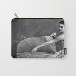 White Morning - graphite pencil drawing Carry-All Pouch