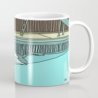 diver Mugs featuring Diver by Highly Anticipated