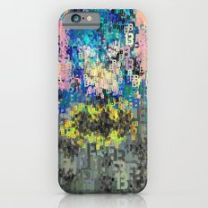 Bat Type Man - Abstract Pop Art Comic iPhone 6s Slim Case