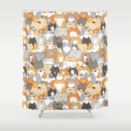 Cats, Kitties and a Spy Shower Curtain