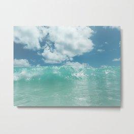 Hawaii Water II Metal Print